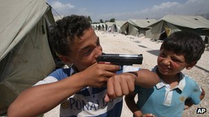 Children caught up in conflict zones often do not get all the help they need