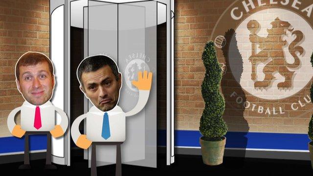 Roman's revolving managerial door
