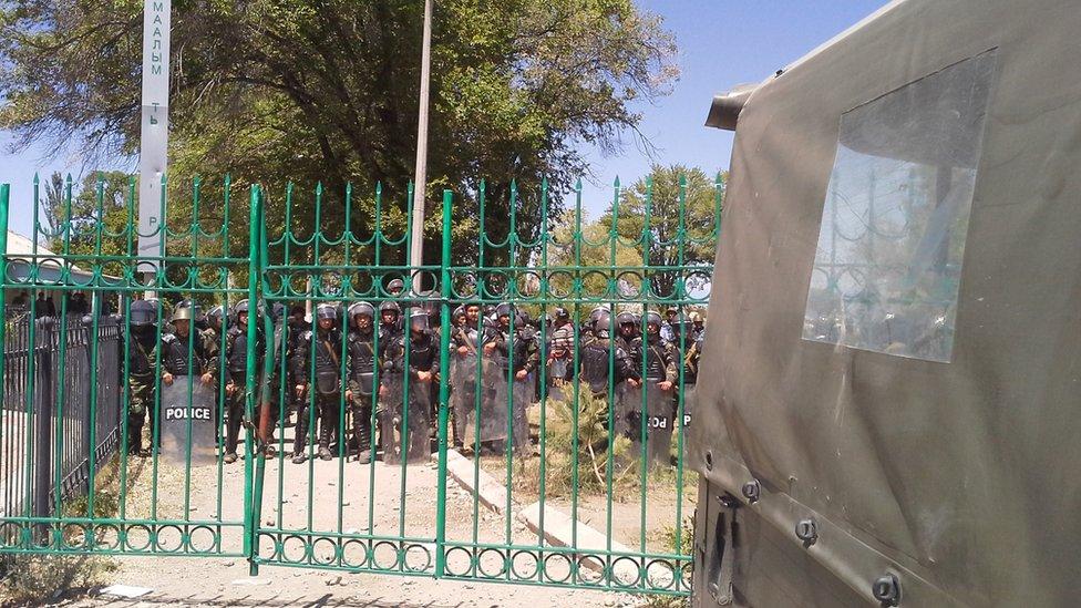 Kumtor protests in Kyrgyzstan, 31 May 2013
