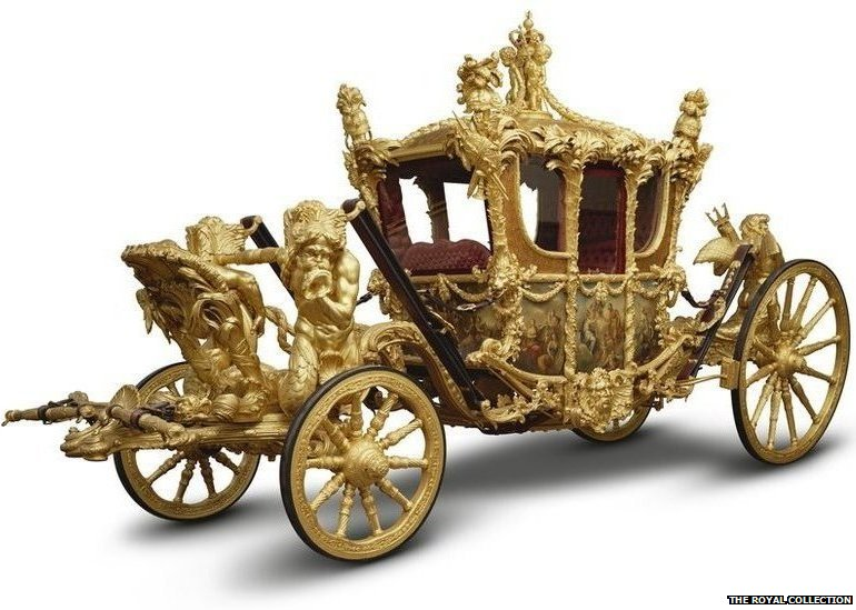 The Gold State Coach, 1762, Samuel Butler
