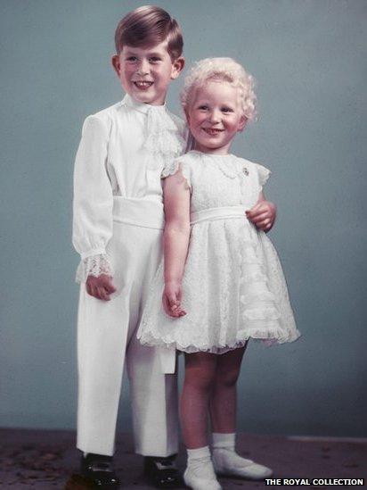 Prince Charles & Princess Anne
