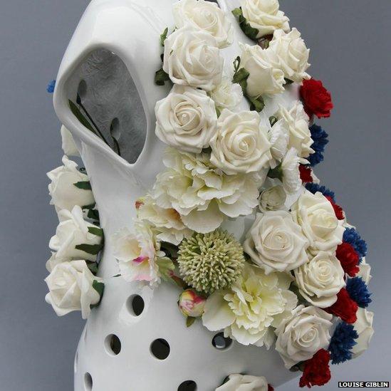 Blooming sculpture