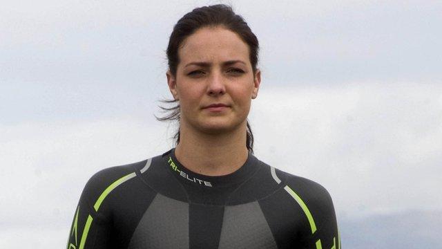 Keri-Anne Payne at Loch Lomond