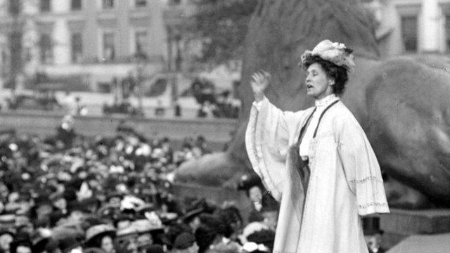 Suffragette Emily Pankhurst
