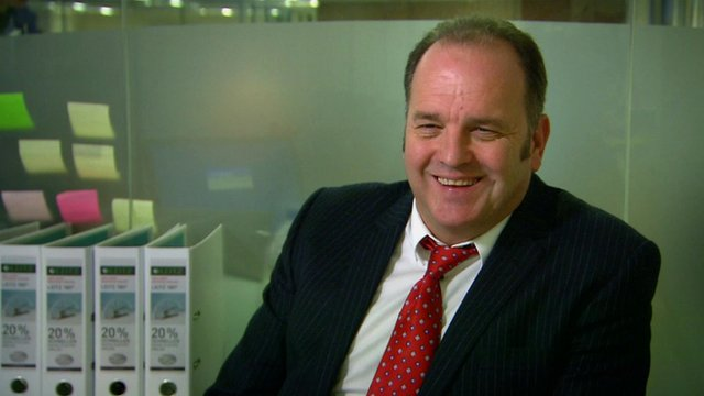 Nev Wilshire from BBC Three documentary, The Call Centre