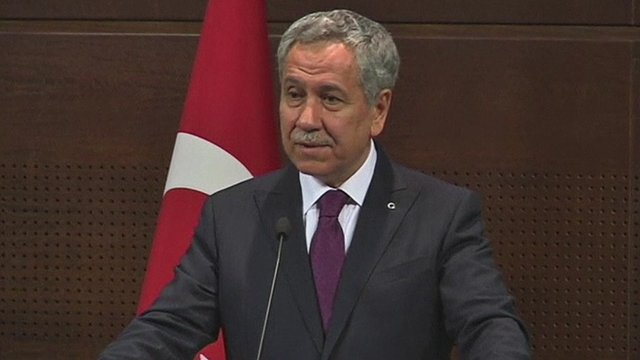 Turkey's Deputy PM Bulent Arinc