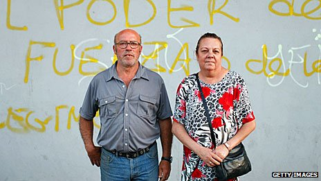 Squatters in Seville, aged 55, June 2013