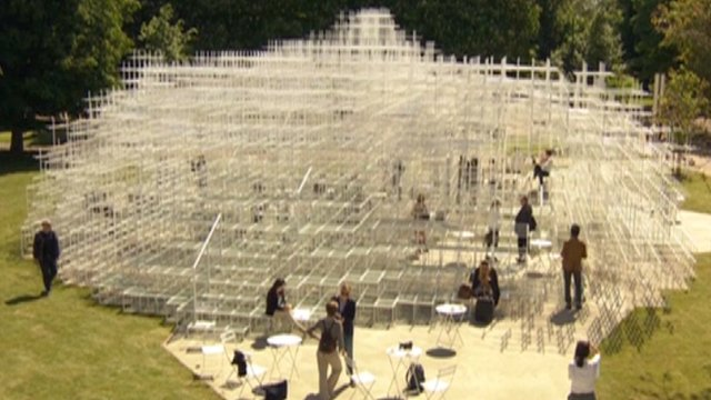 Japanese architect Sou Fujimoto's sculpture for Serpentine Gallery