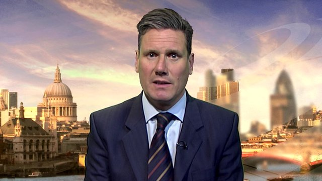The Director of Public Prosecutions, Keir Starmer