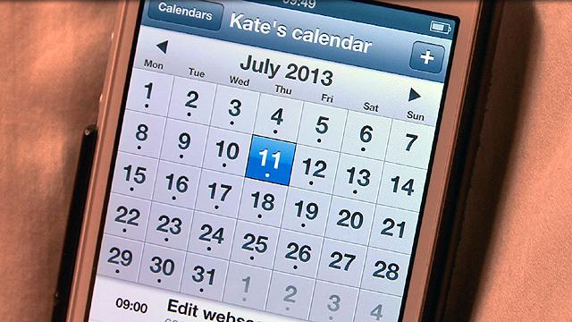 A calendar