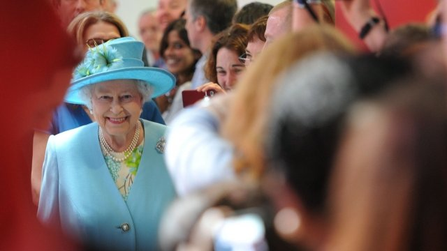 The Queen in New Broadcasting House