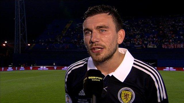 Scotland midfielder Robert Snodgrass