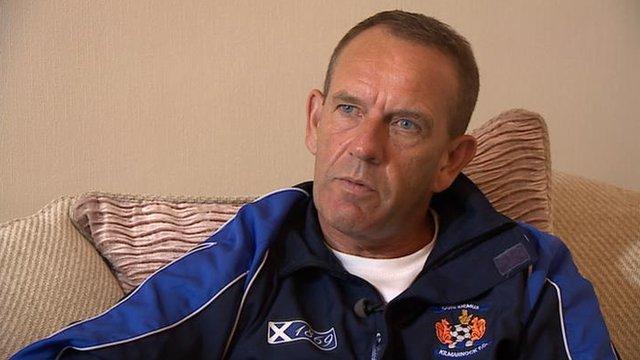 Former Kilmarnock manager Kenny Shiels