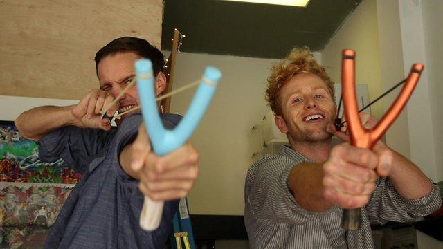 Digital artists Sam Fuchs and Adam Gray