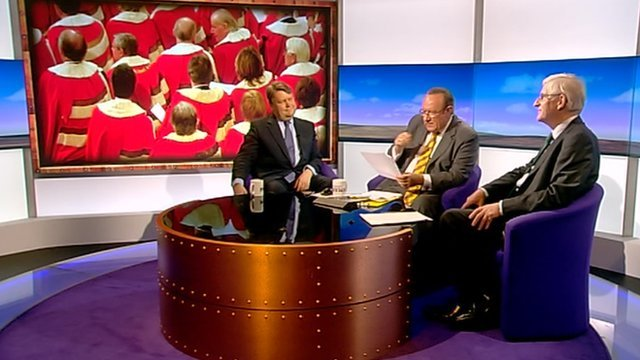 Lord Strathclyde, Andrew Neil and Ben Stoneham