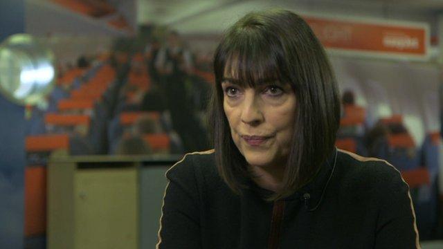 Caroline McCall, chief executive of Easyjet