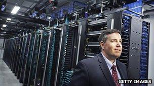 Facebook's global head of data centres Tom Furlong