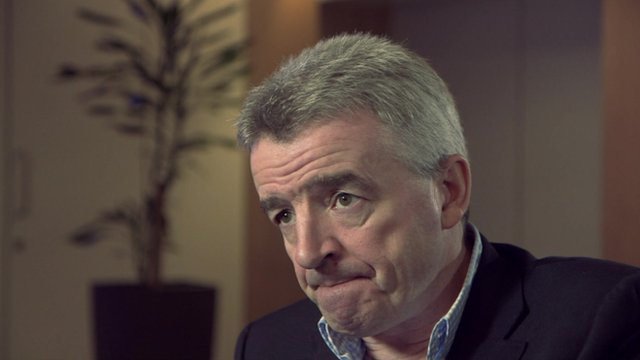 Michael O'Leary, boss of Ryanair