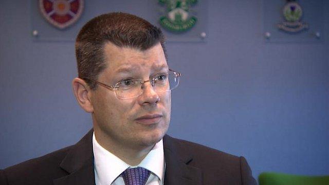 SPL chief executive Neil Doncaster