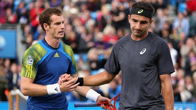 Andy Murray and Marinko Matosevic