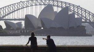Pont Harbwr Sydney