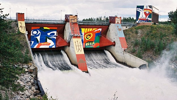 Akkats power station