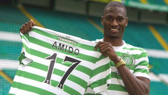 New Celtic striker Amido Balde