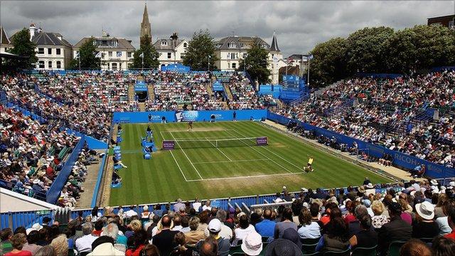 Centre Court at Eastbourne
