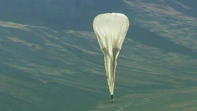 Balloon flying