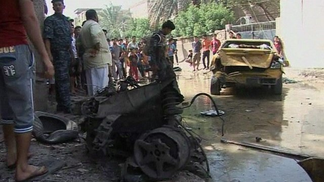 Aftermath in Basra