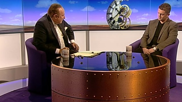 Andrew Neil and Tommy Robinson
