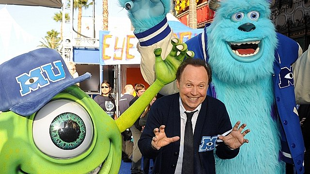 Billy Crystal at the premiere of Monsters University
