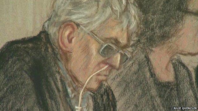 Ian Brady at Tribunal