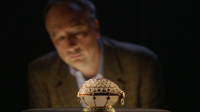 Stephen Smith and Faberge egg