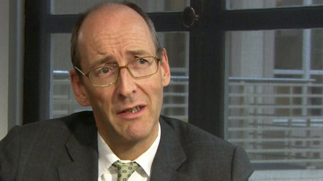 Chairman of the Parliamentary Commission on Banking Standards, Conservative MP Andrew Tyrie
