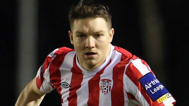 Derry City captain Kevin Deery