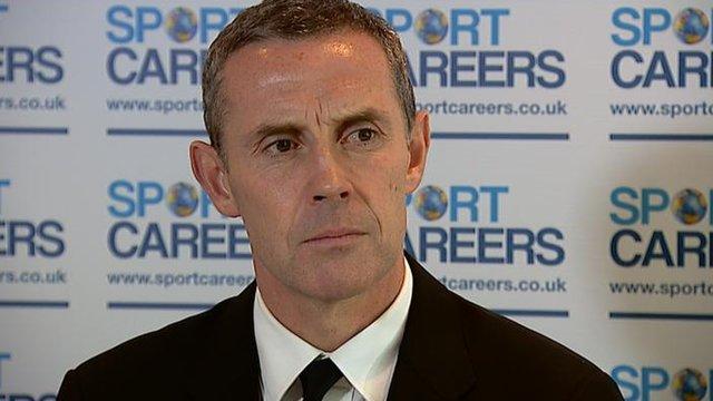 Sheffield United manager David Weir