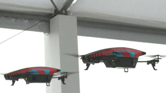 Drones in Paris