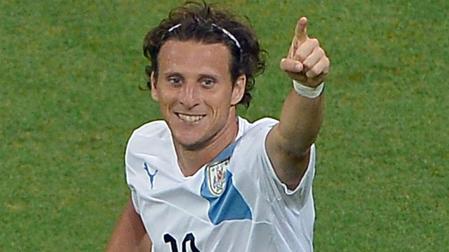 Uruguayan forward Diego Forlan