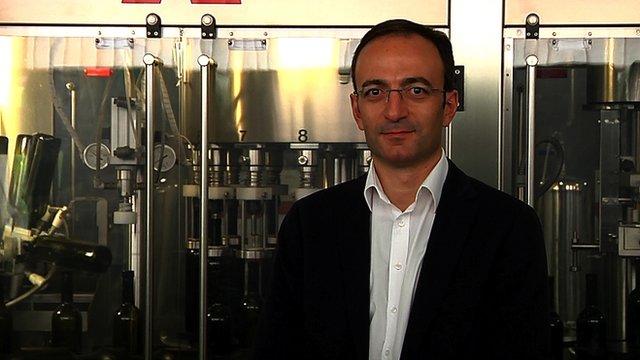 Wine merchant Giorgi Margvelashvili