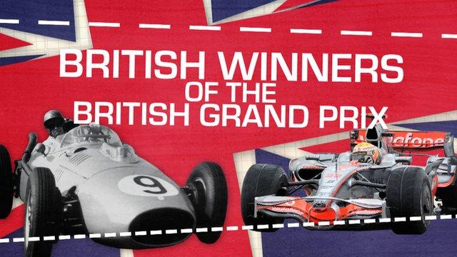 British winners of the British Grand Prix