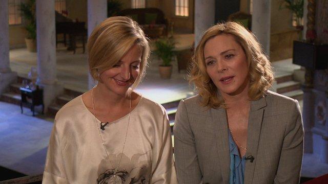 Marianne Elliott & Kim Cattrall on The Andrew Marr Show