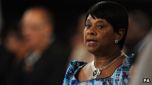 Doreen Lawrence, mother of Stephen (file pic)