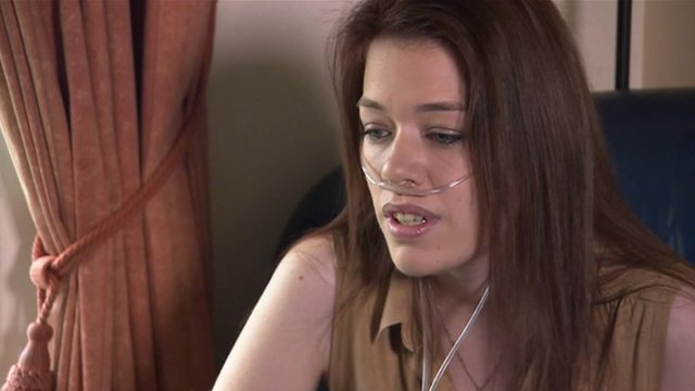 Cistic Fibrosis patient Sarah Horscroft