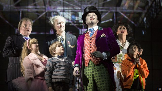 The West End cast of Charlie and the Chocolate Factory