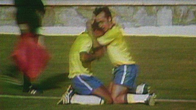 Brazil beat Uruguay in 1970