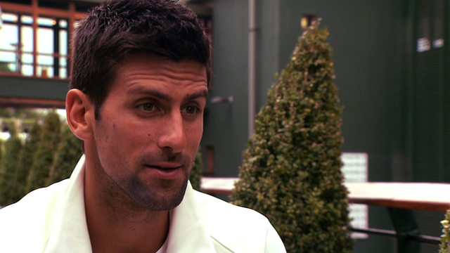 Djokovic looking forward to Wimbledon challenge