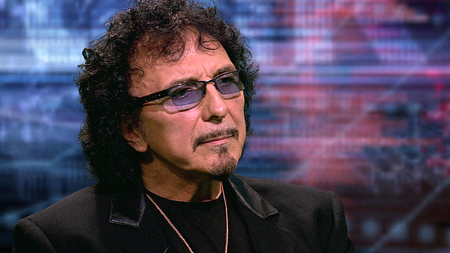 Black Sabbath guitarist Tony Iommi