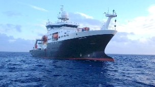 James Cook research ship