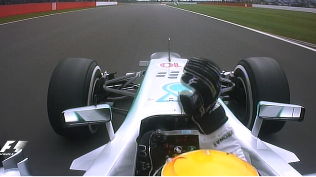 Lewis Hamilton takes pole at the British Grand Prix